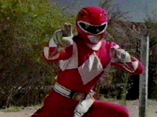RED POWER RANGER