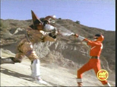 Another Mutorg goes head to head with the Red Ranger